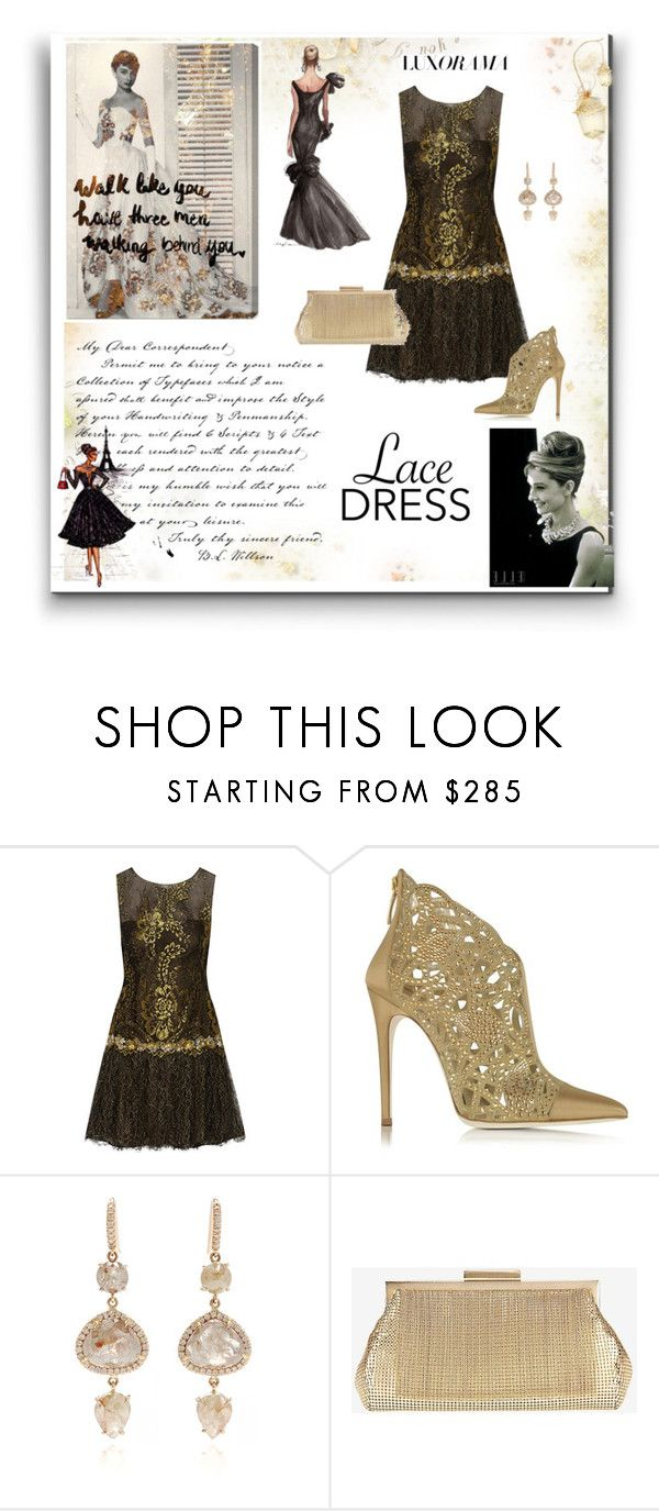 """""""Untitled #258"""" by missozlems ❤ liked on Polyvore featuring Notte by Marchesa, Loriblu, Tiffany & Co., NSR Nina Runsdorf, Whiting & Davis and Marc"""