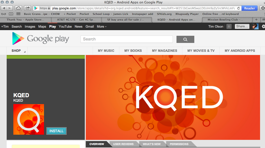 KQED Android app is live