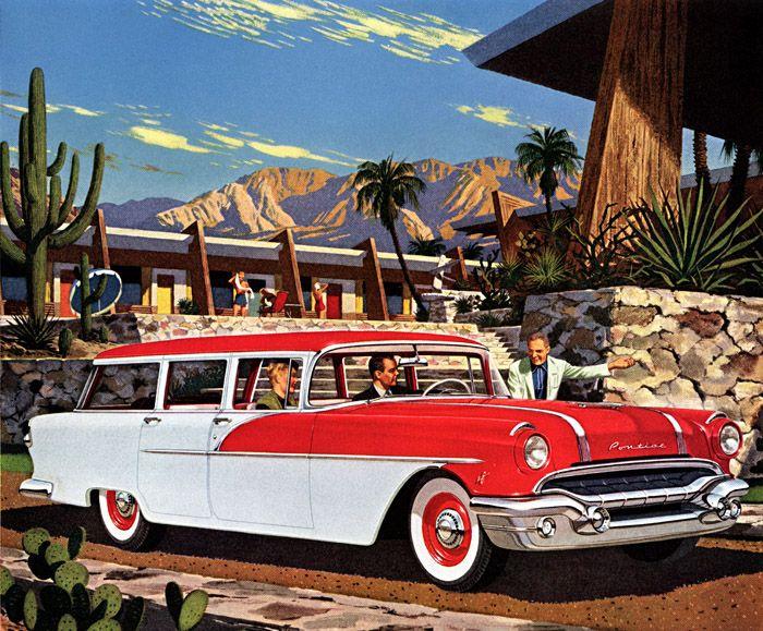 '56 Pontiac 01 Station wagon, Vintage cars, Classic cars