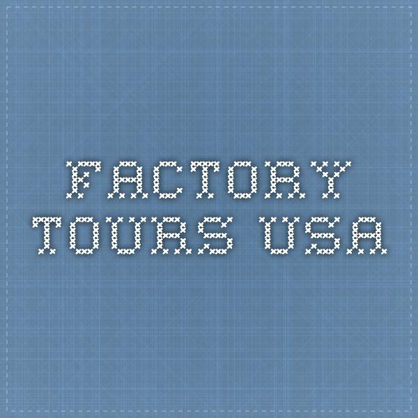 Factory Tours USA