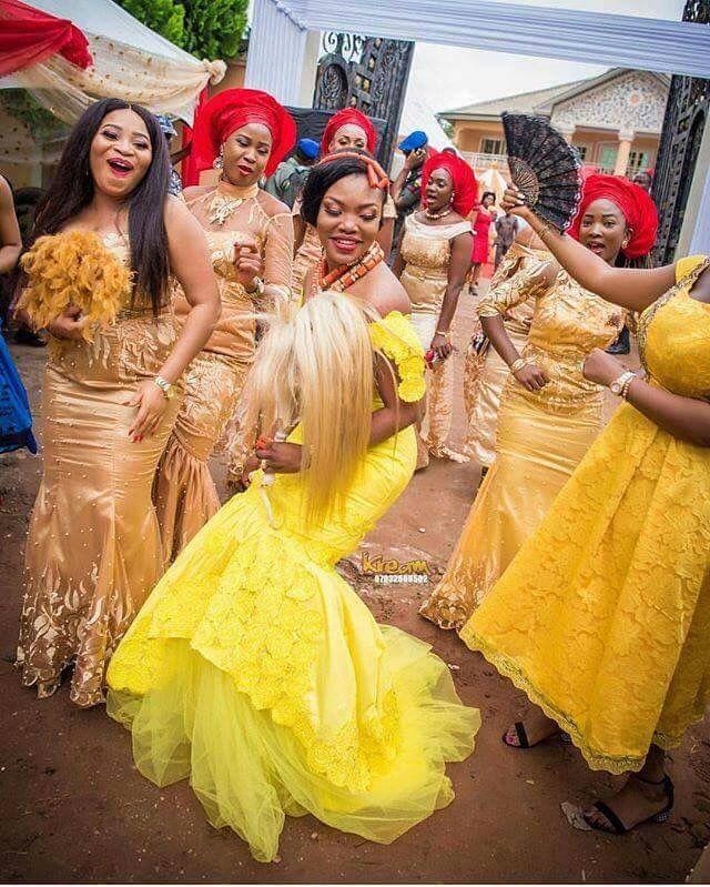 Igbo Nigerian Wedding: Nigerian Wedding Dresses Traditional