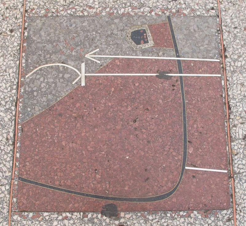 Cuban sidewalk terrazzo