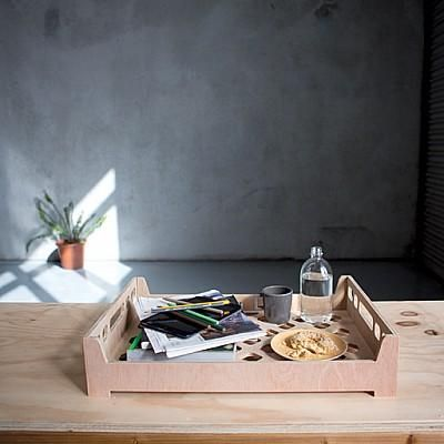 Wooden Bread Crate