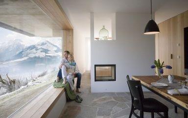 die sch nsten design ferienh user das the shingle house von innen sterreich ferienwohnung. Black Bedroom Furniture Sets. Home Design Ideas