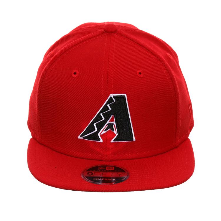 half off 915cb 95e1b Exclusive New Era 59Fifty Arizona Diamondbacks D Fitted Hat - Red, Metallic  Gold