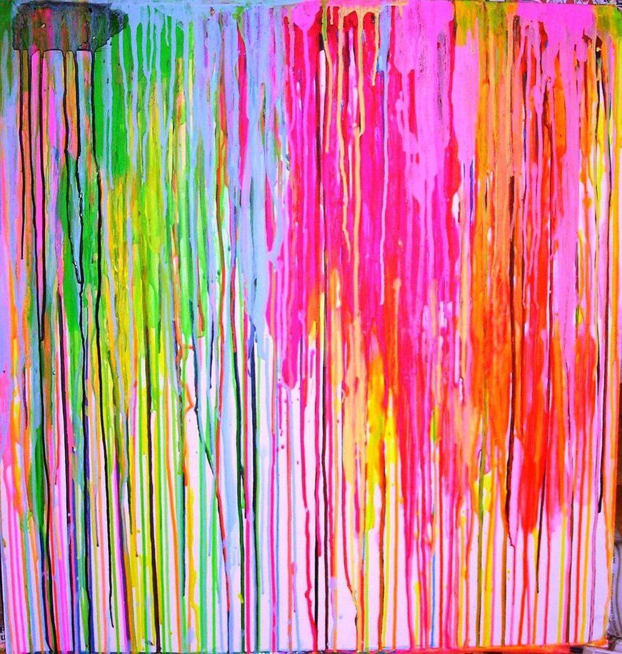dripping paint Drip painting, Dripping paint art, Drip art