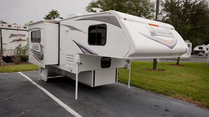 2013 Lance Longbed Truck Camper Glamping Pickup Camper Used