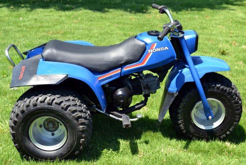Good Honda Three Wheeler | Three Wheeler    1983 Blue Honda 110 ATC ATV