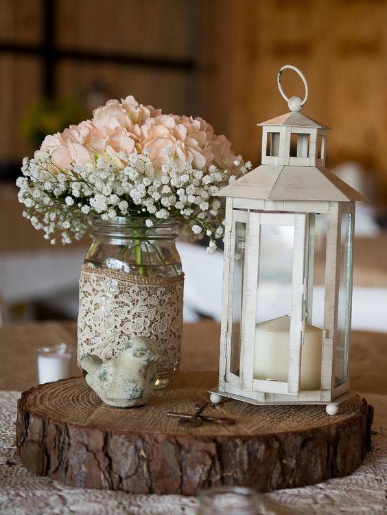 Baby S Breath And Hydrangea In A Mason Jar Http Www Deerpearlflowers