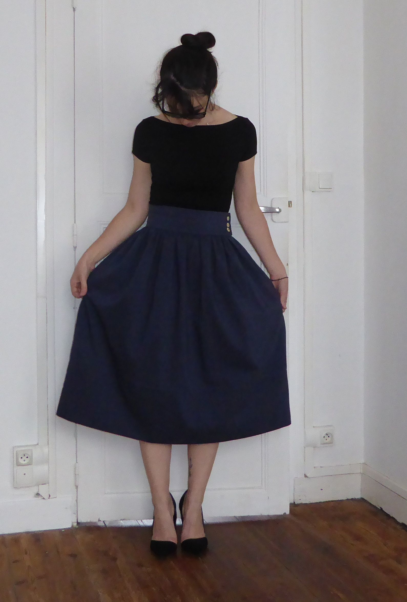 Exceptionnel Jupe Midi - patron Vanessa Pouzet | I have done it | Pinterest  UG02