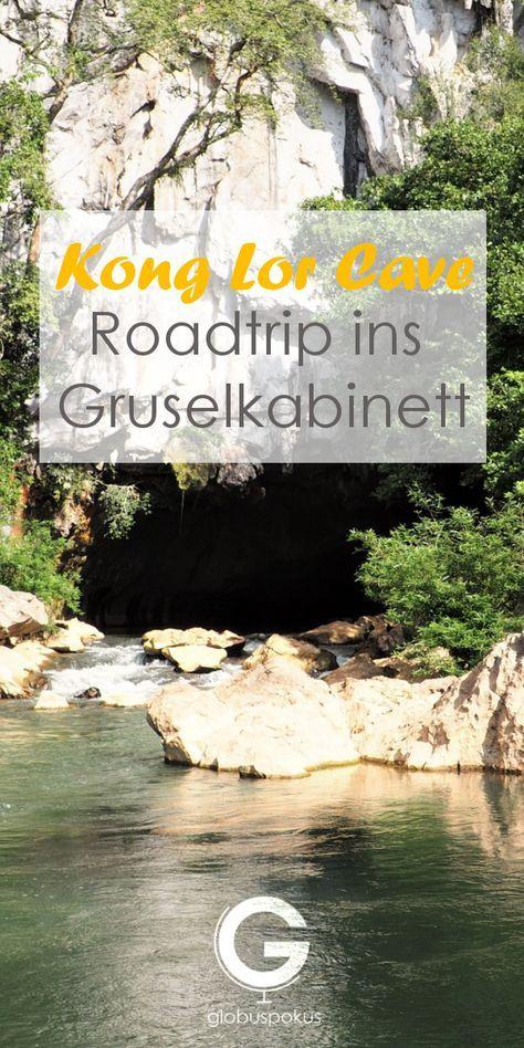 Reisebericht Kong Lor Cave! Du stehst auf Höhlen und schöne Roadtrips. Dann musst du unbedingt hier vorbei schauen!