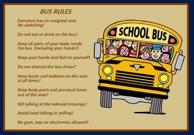 photo regarding Printable School Bus Rules titled University+Bus+Stability+Suggestions Bus Faculty bus basic safety, Bus