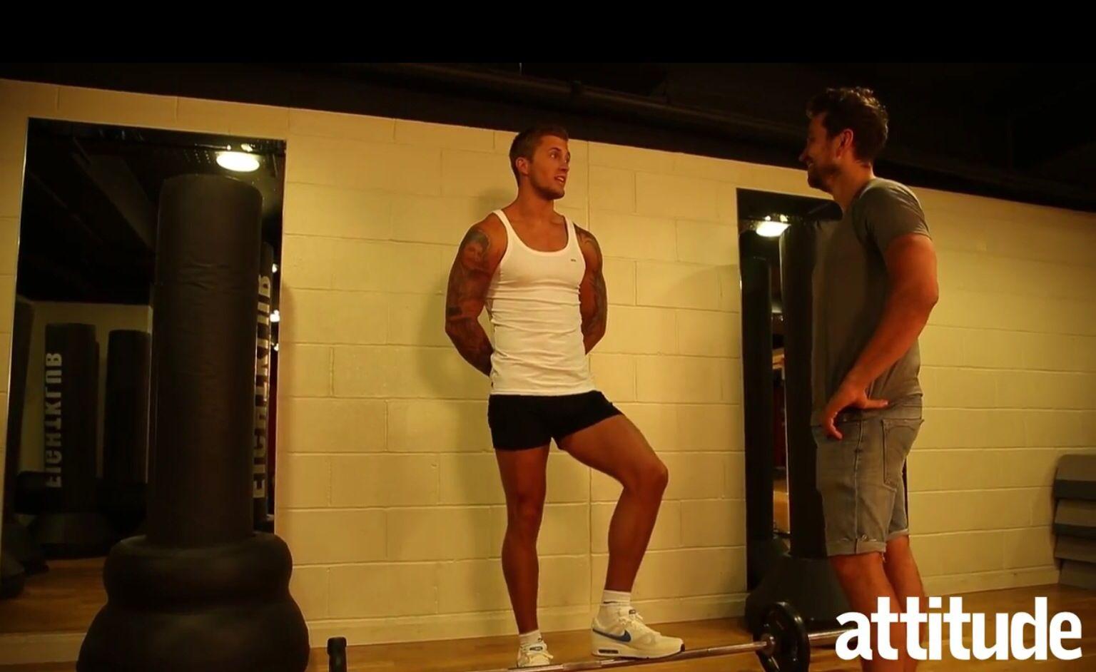 Dan Osbourne is the new fitness guru for Attitude magazine