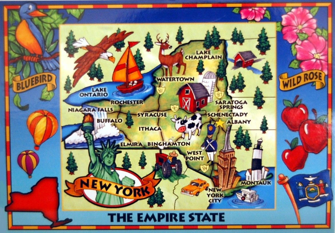 Maryland Map Of New York Illustrated Map West Point New York