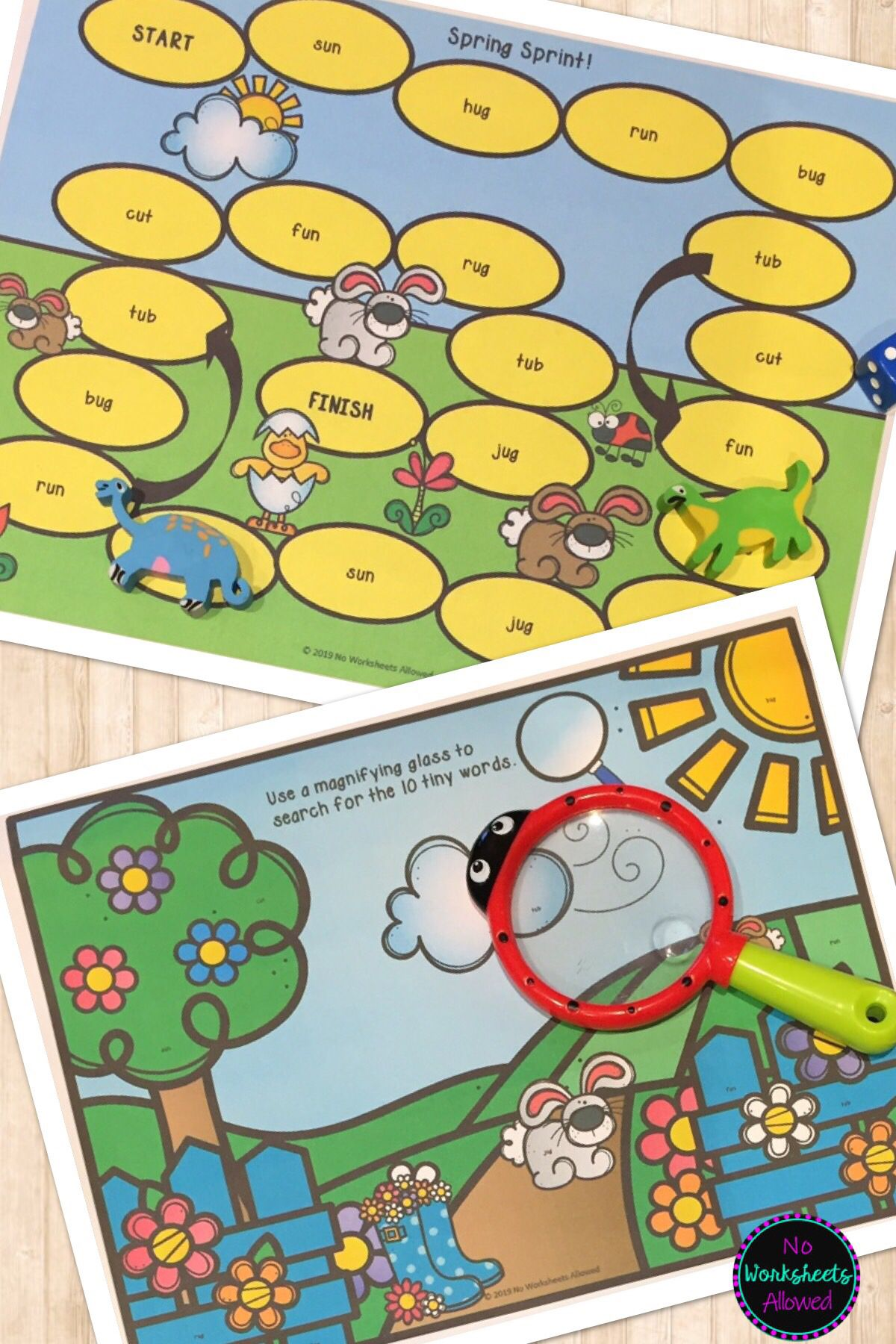 Editable Sight Word Games And Activities Spring Theme