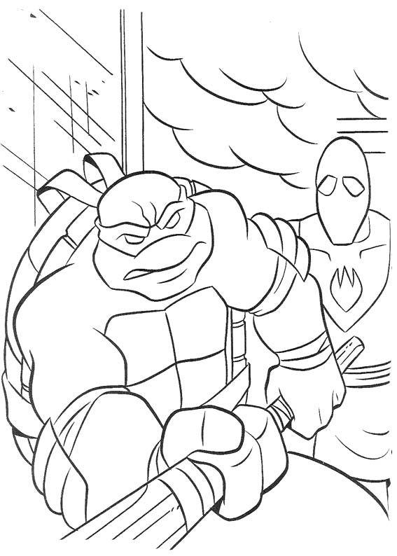 Two Ninja Turtle Snarled Coloring Page Ninja Turtle Coloring Page - copy christmas coloring pages ninja turtles