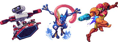 smash 4 pixel art