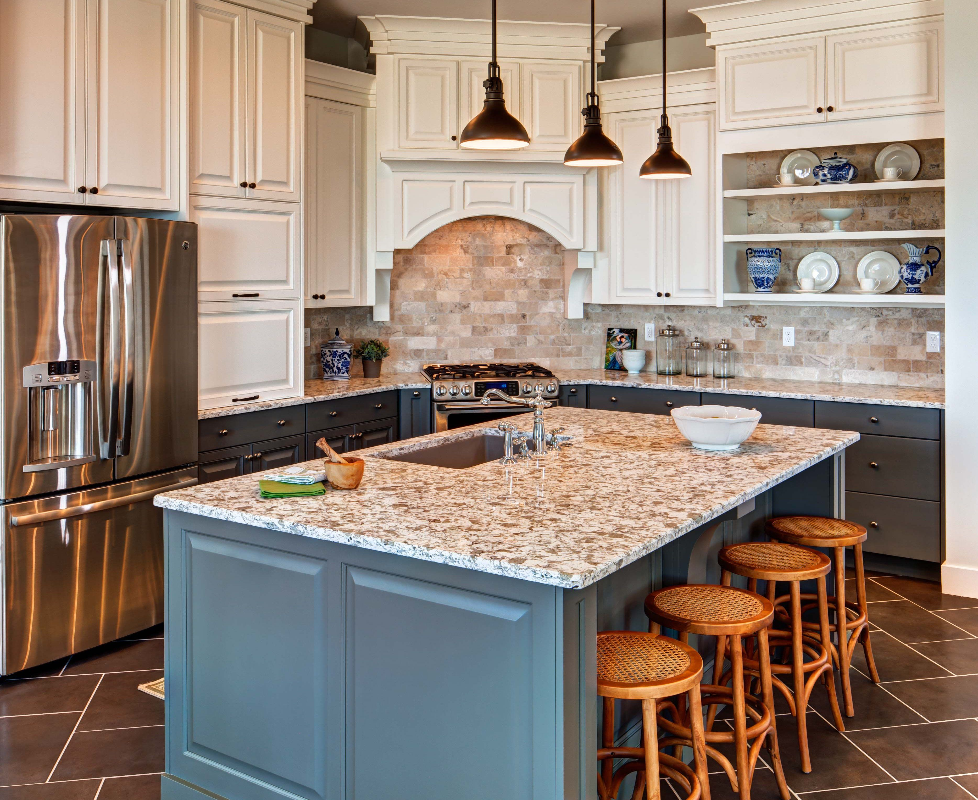 traditionalthursday u0027s installation features a classic kitchen