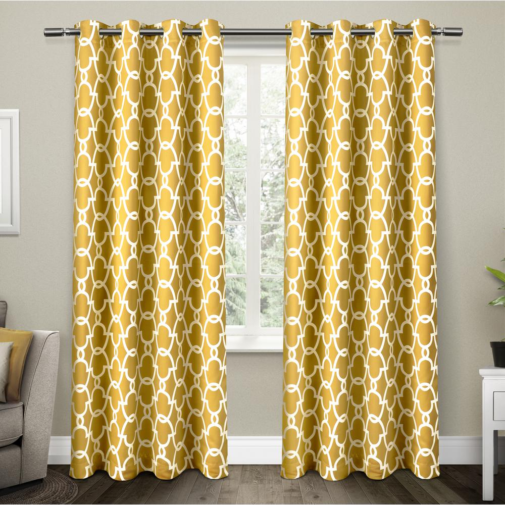 Yellow Curtains Panel Curtains Grommet Top Curtains Cool Curtains