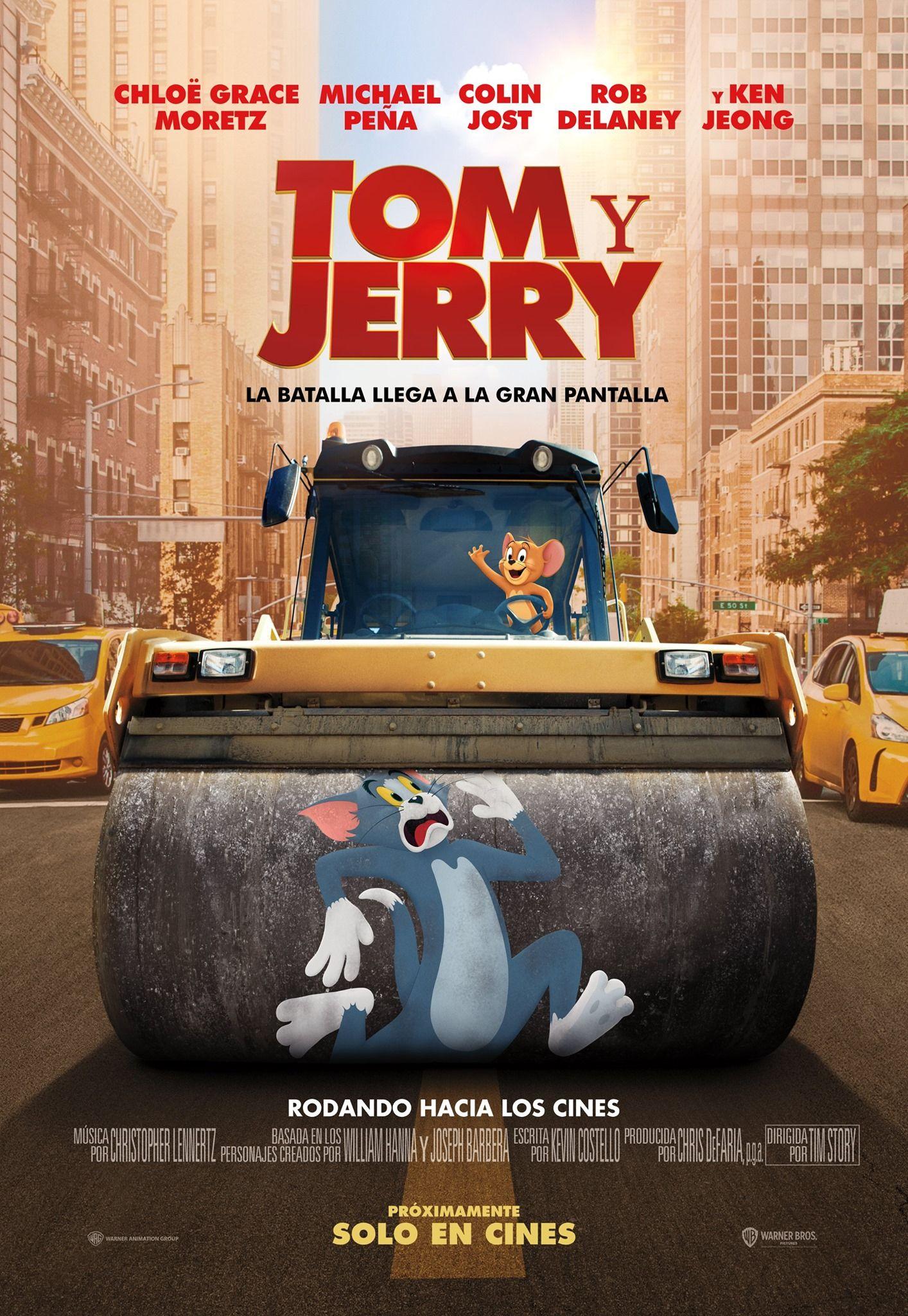 La Pelicula De Tom Y Jerry Anuncia Fecha Oficial De Estreno En 2021 Tom Y Jerry Poster De Peliculas Solo En Cines