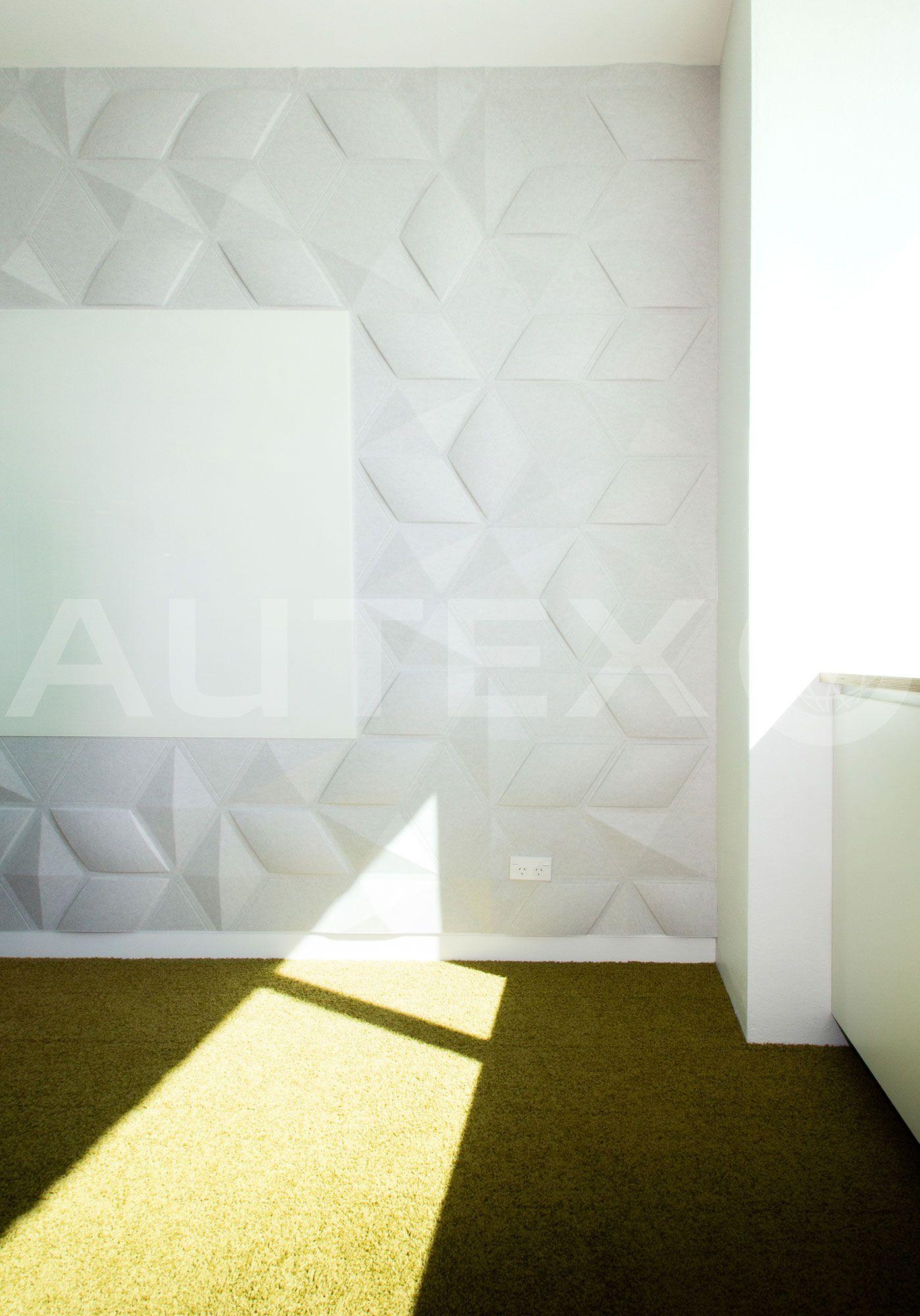 Autex Interior Acoustics - Quietspace® 3D Tiles - Unispace, Auckland
