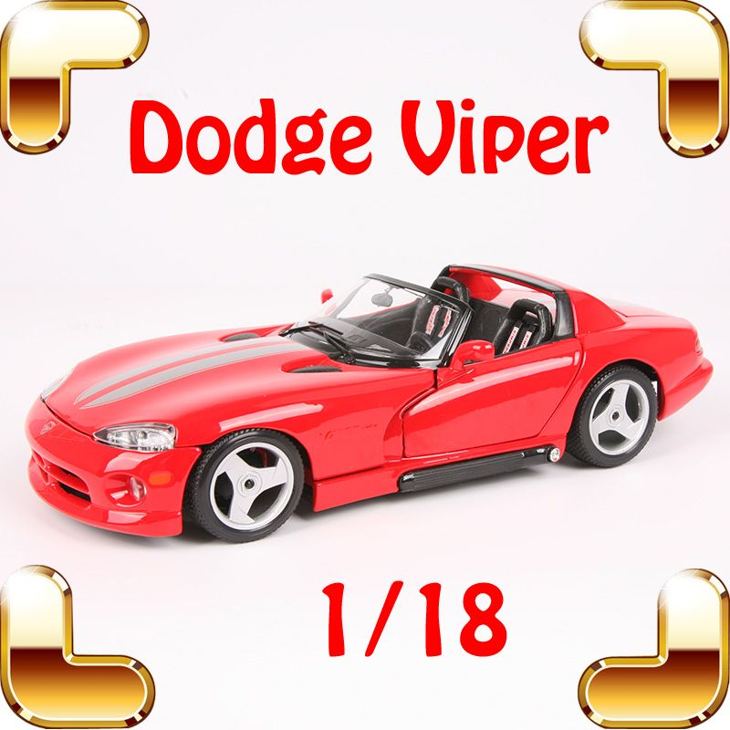 Christmas Gift Viper 1 18 Model Metal Car Collectible Toys Model