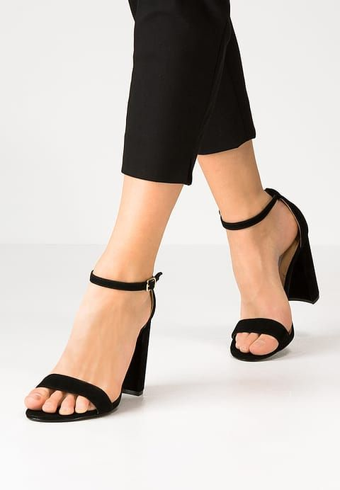 d5b0bec86f3 CARRSON - High heeled sandals - black @ Zalando.co.uk 🛒 | Ideas ...