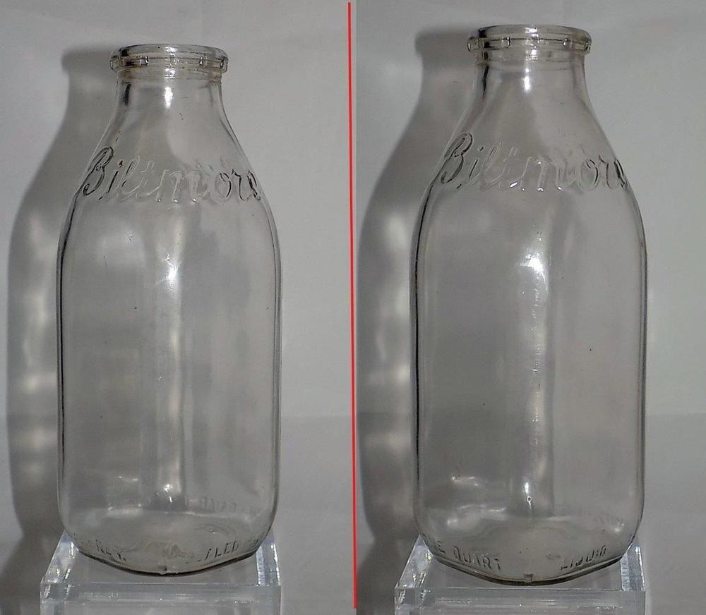 Rare Biltmore Dairy Milk Bottle 1 Quart Asheville Nc 1950 S Bb Milk Bottle Dairy Milk Milk