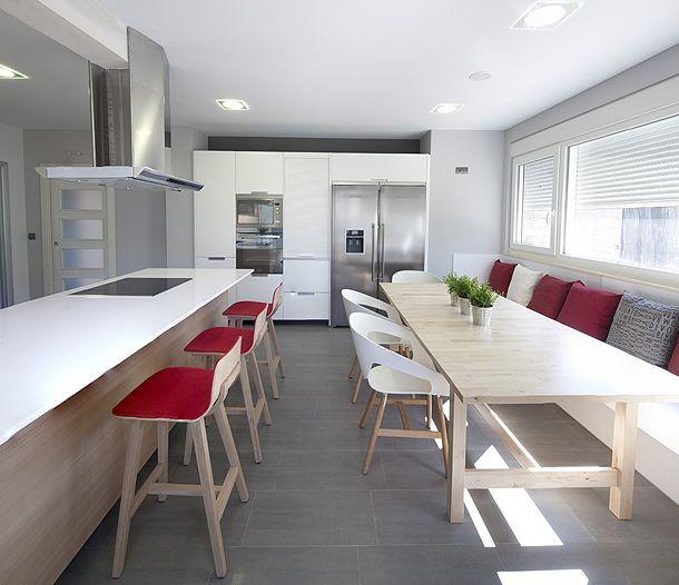 cocina comedor. Cocina Santos. Diseño Israel Fernández. Casa en ...