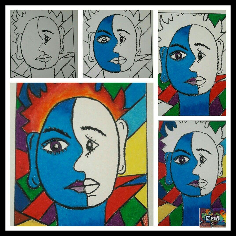 Picasso 3 Pastel Boya Calisma Pastel Boyalar Pastel Calisma