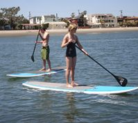 San Go Boat Als Including The Paddle Boards Provided By Mission Bay Sportcenter