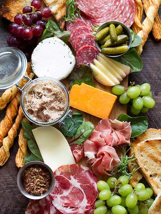 Build A Charcuterie Board In 4 Easy Steps Gourmet Recipes Cheese Platters Charcuterie Platter