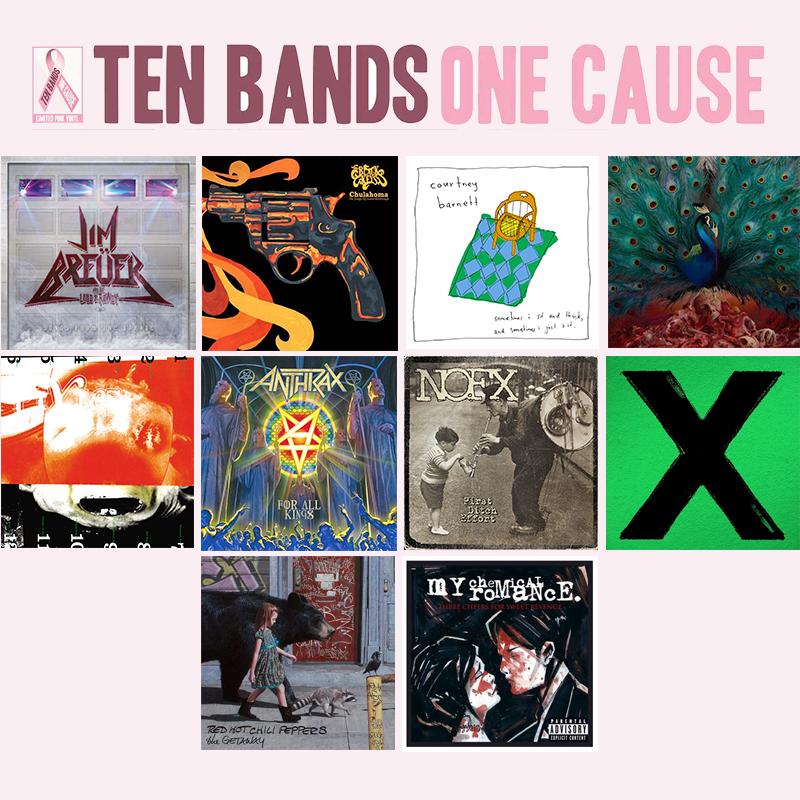 Ten Bands, One Cause Limited Edition 10 LP Vinyl Bundle