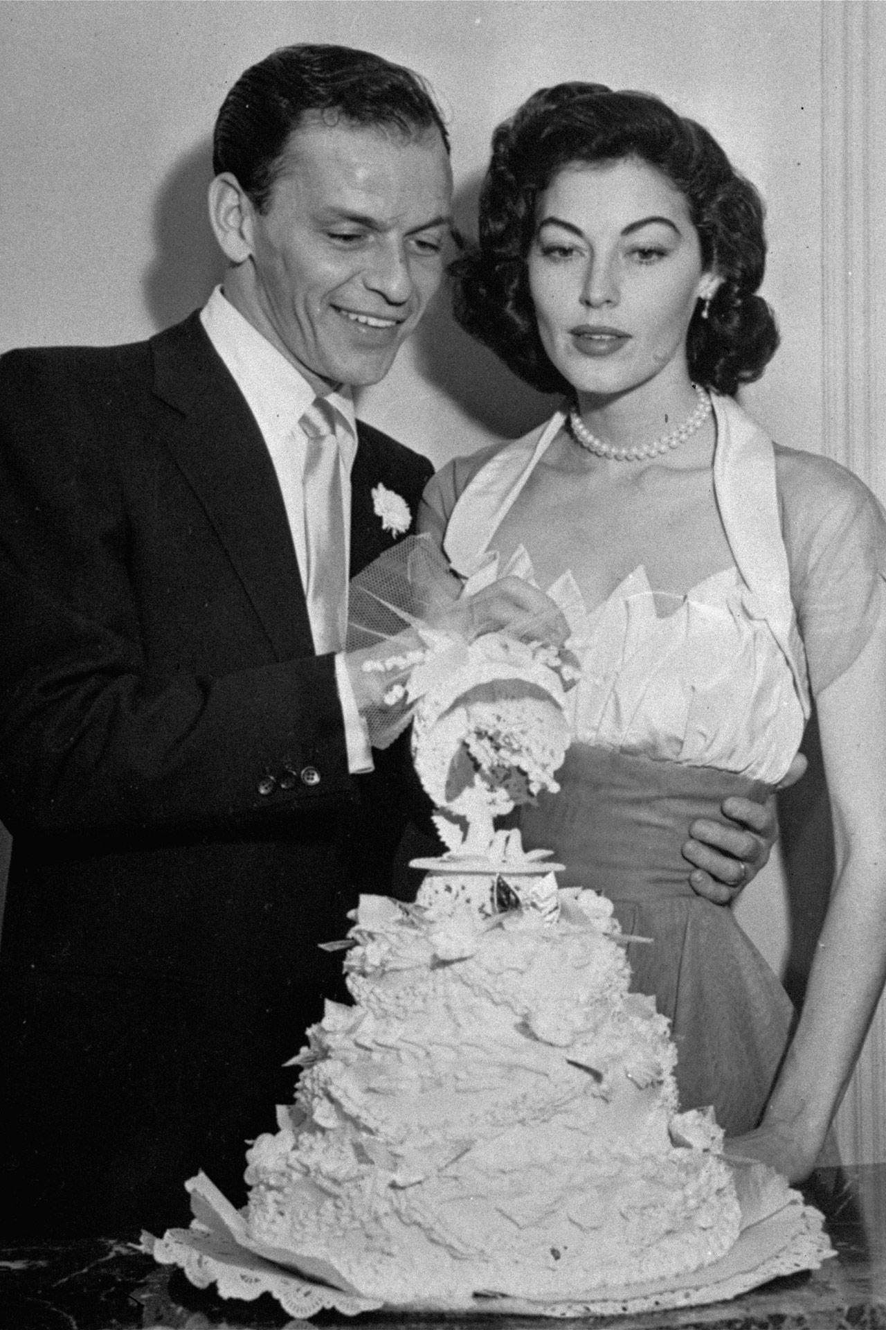 The Most Iconic Celebrity Wedding Dresses Of All Time Bridesmagazine Co Uk Ava Gardnervintage