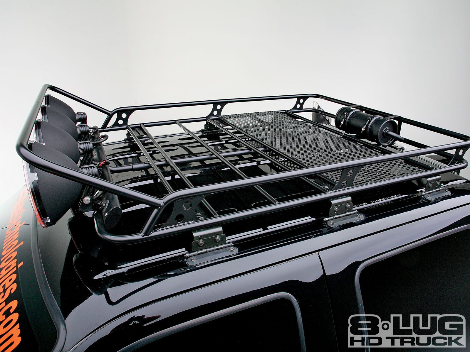 smp fabworks f250 roof rack [ 1600 x 1200 Pixel ]