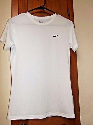 Nike Damen nikefit Short Sleeve T-Shirt