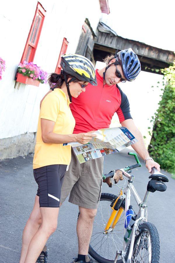 Cyclotourisme en Montérégie