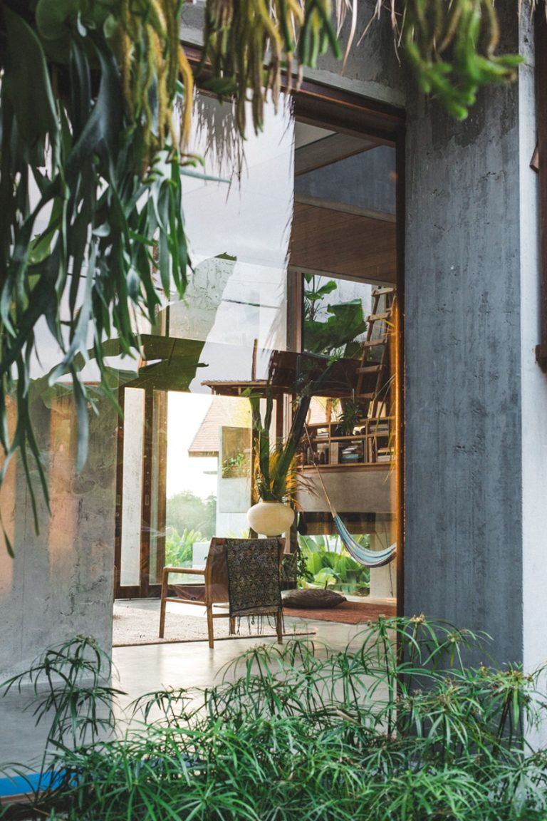 Daniel Mitchell's Concrete House In Bali By Patisandhika