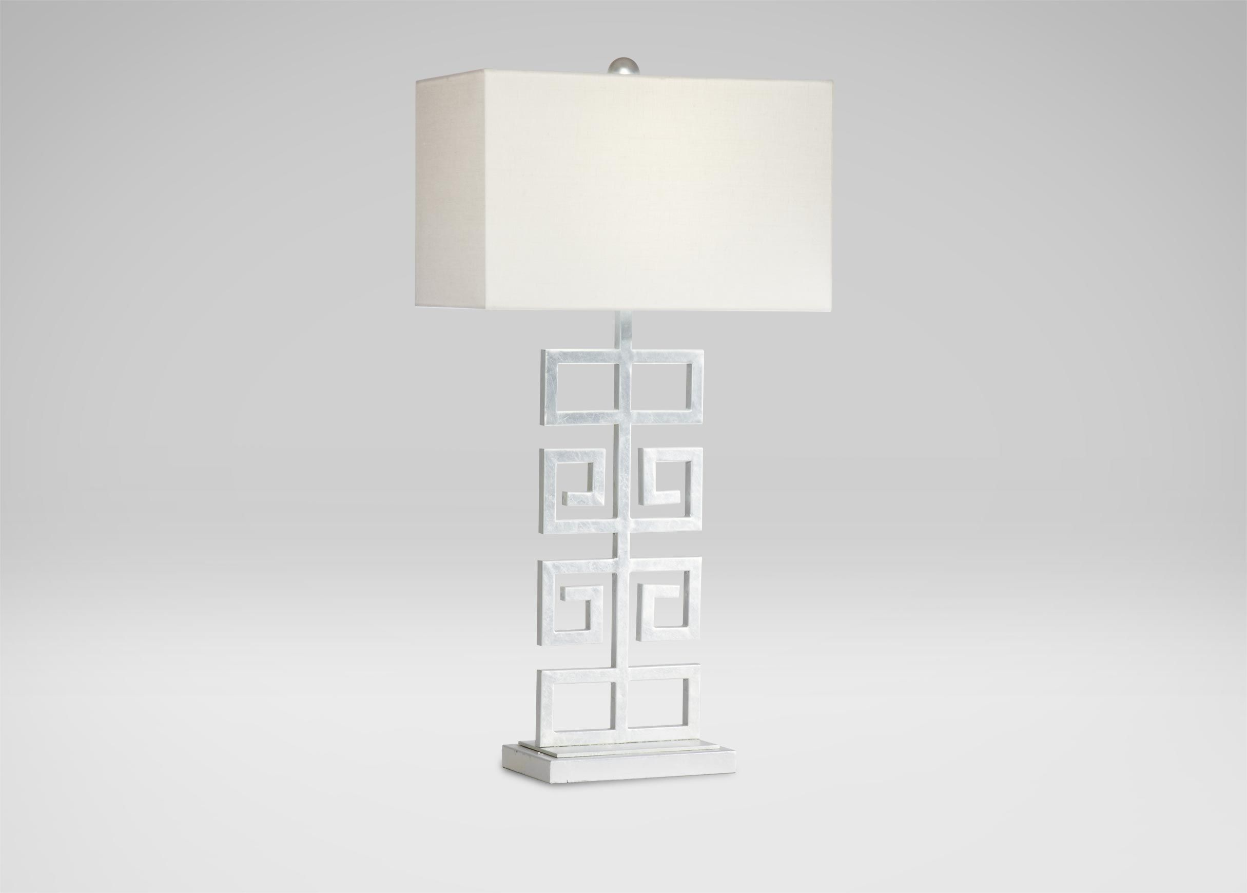 Greek Key Table Lamp Table Lamps Ethan Allen Wine Country
