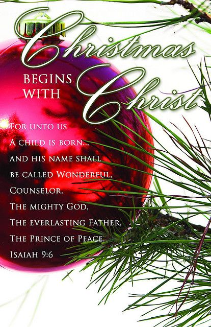 christmas bulletin cover