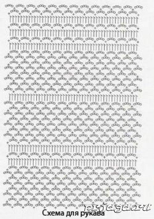 Esquema Crochet bolero | Haak steken | Pinterest | Boleros, Esquemas ...