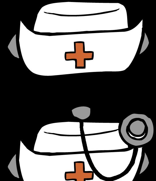 To Draw A Nurse Hat Nursing Hat Clipart Nurse Hat Nurse Drawing Nurse
