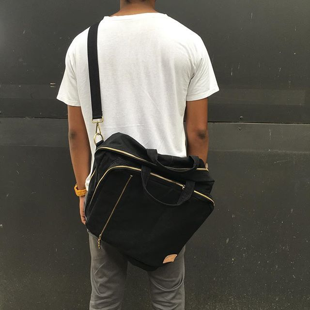 ~tailormade~ Custom bag order 15 oz. superblack selvedge denim #tailor #tailormade #custom #superblack #denim #design #unique #handmade #handcrafted #sewing #bag #handmadebag #accessories