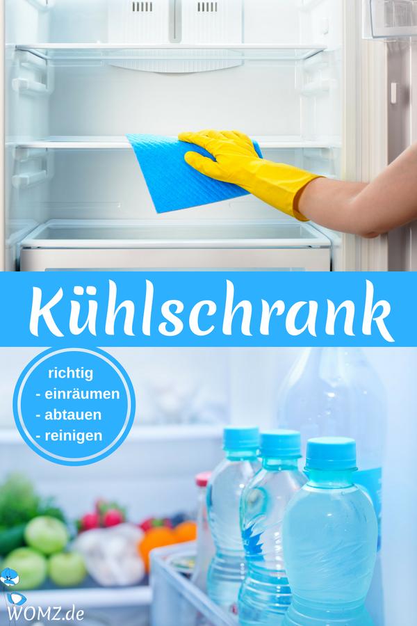 Kühlschrank richtig einräumen, abtauen und reinigen | Pinterest ...
