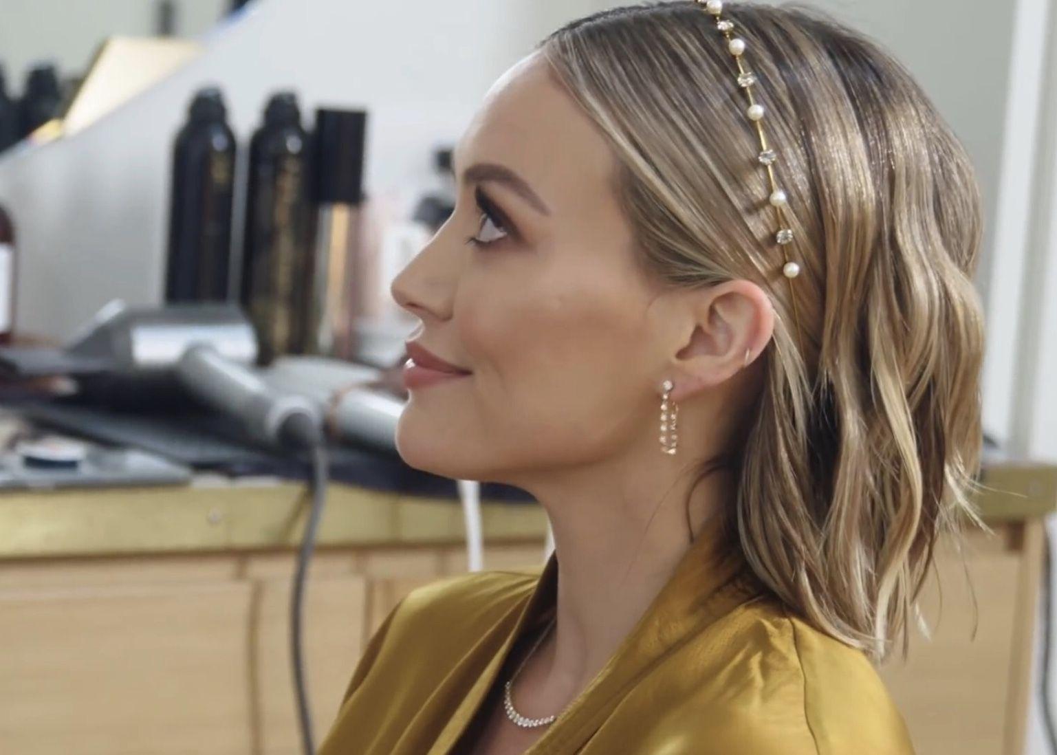 Pin By Elo On Hilary Duff Hillary Duff Hair Wedding Hair Inspiration Wedding Hair And Makeup