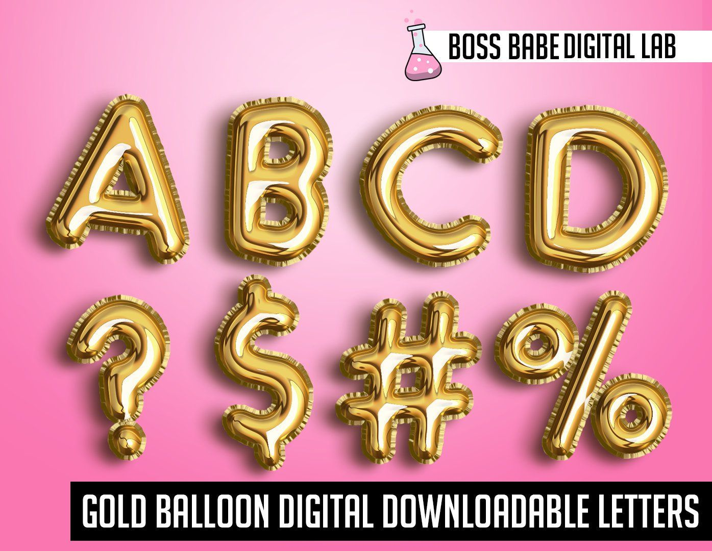 Gold Foil Balloon Alphabet Clipart Commercial Use Gold Letters Gold Foil Gold Party Gold Digital Designs Gold Foil Balloons For Flyers Gold Foil Balloons Foil Balloons Balloons