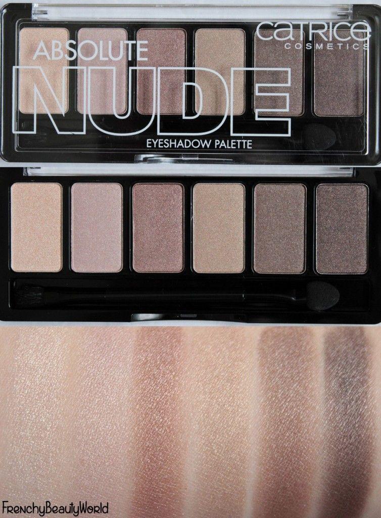 Catrice Absolute Nude Eyeshadow Palette paleta očních