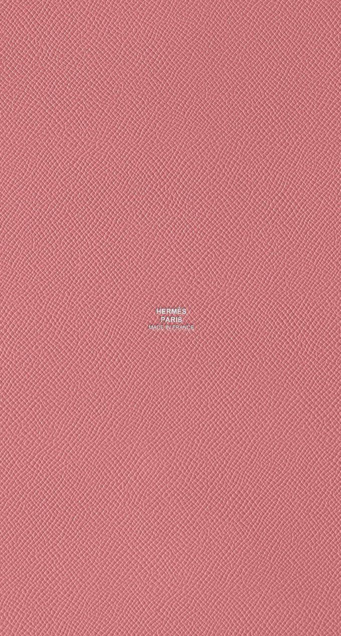 エルメス/レザーピンク2 Iphone wallpaper, Cute wallpapers