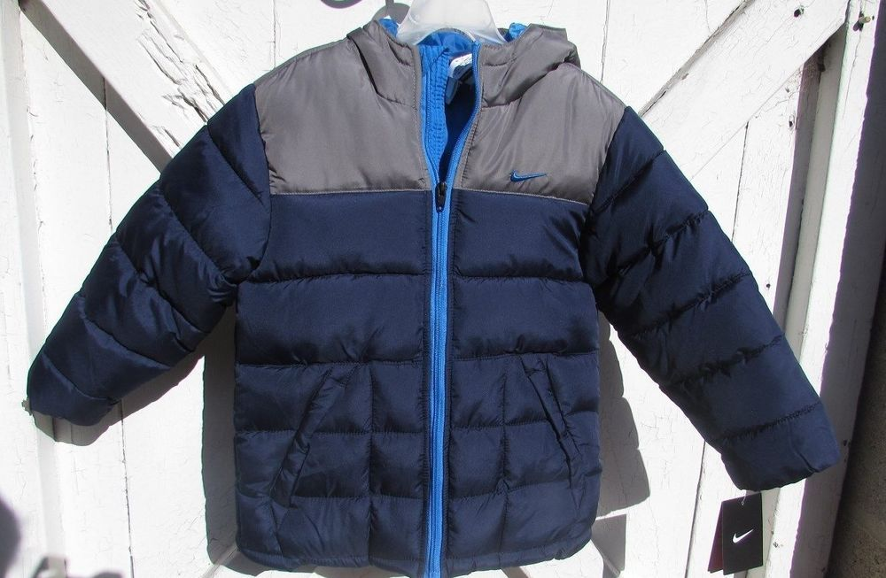 ed1118735 Nike Toddler Boys puffer jacket coat Size 3t