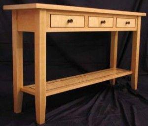Free Sofa Table Plans Sofa Table Console Table Behind Sofa